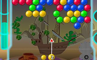 Balls on the depth 3