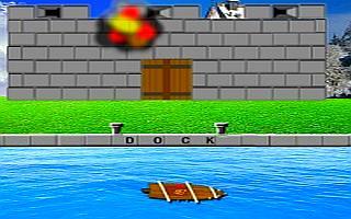 Sailing Ship Castle Attack